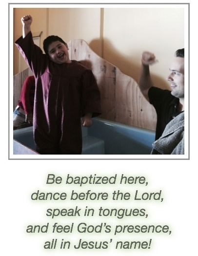 be baptized!