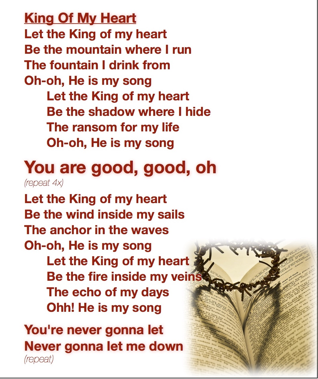 king heart,