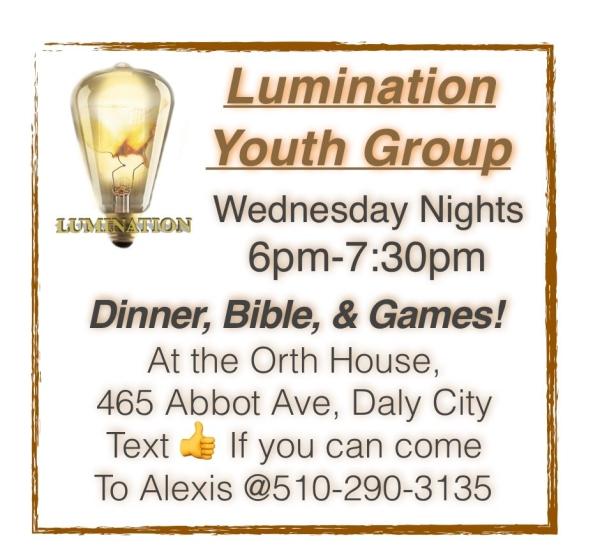 lumination dinner bible games