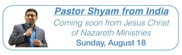 Pastor Shyam